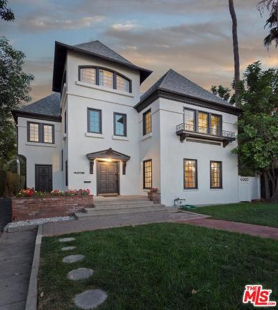 Single Family Home For Sale: 4016 Wilshire