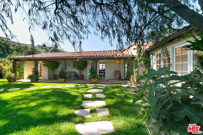 Single Family Home For Sale: 2531 Nichols Canyon Road