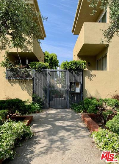 Santa Monica Condo/Townhouse For Sale: 1312 Berkeley Street #3