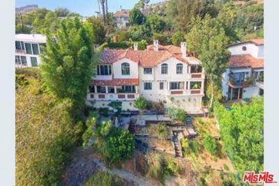 Single Family Home For Sale: 2735 Nichols Canyon Road