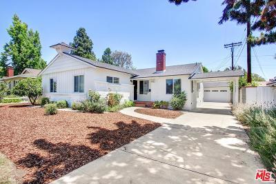 Sherman Oaks Single Family Home For Sale: 5314 Calhoun Avenue