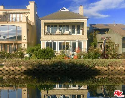 Venice Single Family Home For Sale: 2723 Grand Canal