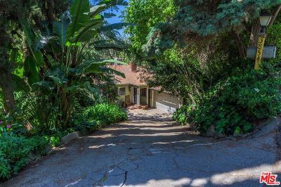 Studio City Single Family Home For Sale: 3854 Avenida Del Sol