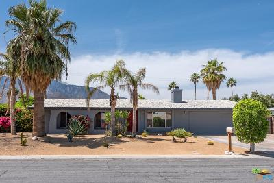 Palm Springs Single Family Home Active Under Contract: 1955 North San Clemente Road