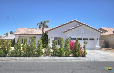 Cathedral City Single Family Home Active Under Contract: 30480 San Eljay Avenue