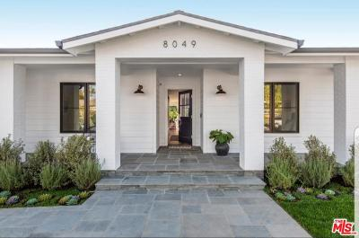 Single Family Home For Sale: 8049 Kentwood Avenue