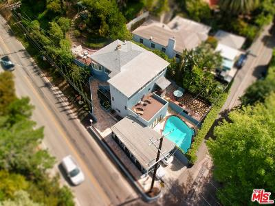 Beverly Hills Single Family Home For Sale: 2300 Benedict Canyon Drive