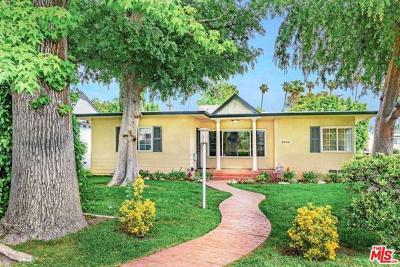 Sherman Oaks Single Family Home For Sale: 4500 Nagle Avenue