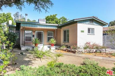 Los Angeles Single Family Home For Sale: 411 San Pascual Avenue