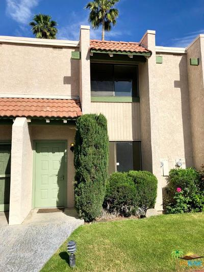 Cathedral City Condo/Townhouse Active Under Contract: 100 Lakeview Circle