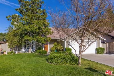 Saugus Single Family Home For Sale: 27952 Helton Drive