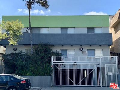 Los Angeles County Residential Income For Sale: 1021 North Genesee Avenue
