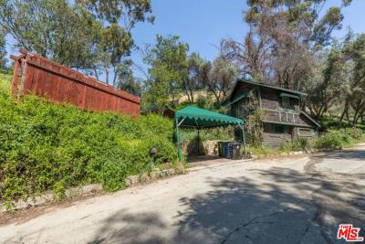Los Angeles County Single Family Home Active Under Contract: 568 Mount Washington Drive