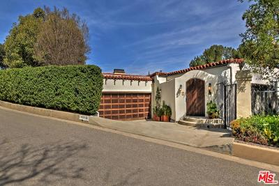 Sherman Oaks Single Family Home For Sale: 14853 Round Valley Drive