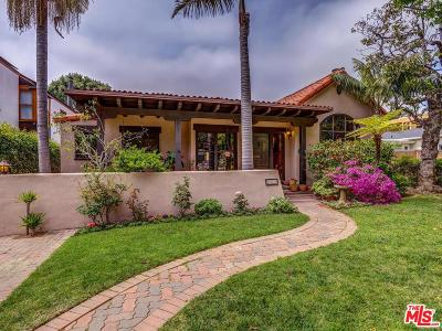 Santa Monica Single Family Home Active Under Contract: 450 17th Street