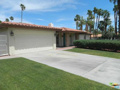 Palm Springs Single Family Home For Sale: 2990 East Vera Cruz Road
