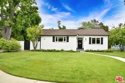 Sherman Oaks Single Family Home For Sale: 5128 Stansbury Avenue