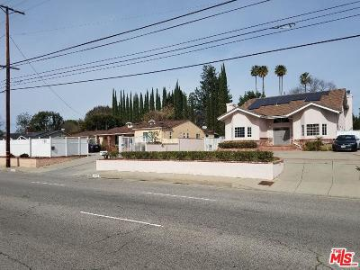 Northridge Single Family Home For Sale: 17425 Nordhoff Street