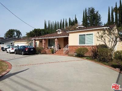 Northridge Single Family Home For Sale: 17433 Nordhoff Street