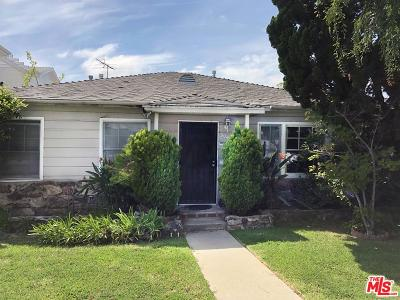 Los Angeles CA Single Family Home For Sale: $1,399,000