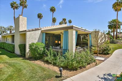 Palm Springs Condo/Townhouse For Sale: 391 East La Verne Way