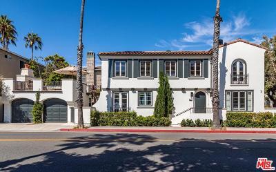 Santa Monica Single Family Home For Sale: 127 Hollister Avenue