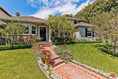 Los Angeles Single Family Home For Sale: 3027 Haddington Drive