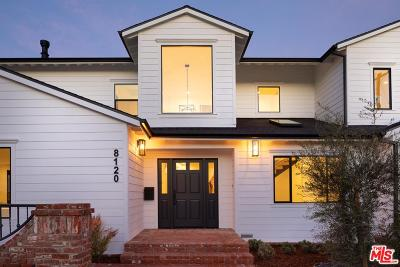 Playa Del Rey Single Family Home For Sale: 8120 Saran Drive