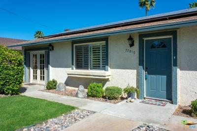 Palm Desert Single Family Home Active Under Contract: 77010 New York Avenue