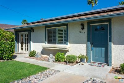 Palm Desert Single Family Home For Sale: 77010 New York Avenue