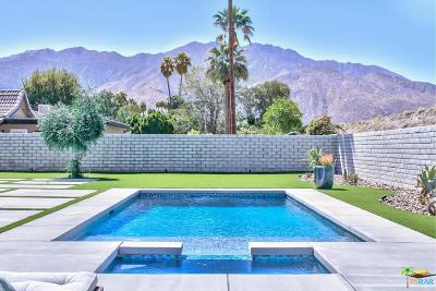 Palm Springs Single Family Home Active Under Contract: 4862 East Par Drive