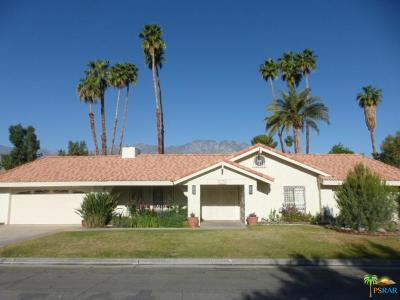 Palm Springs Single Family Home Active Under Contract: 2175 South Pebble Beach Drive