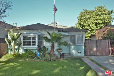 Los Angeles County Single Family Home For Sale: 3322 Fay Avenue
