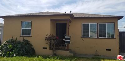 Compton Single Family Home For Sale: 206 West Johnson Street