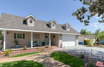 Burbank Single Family Home For Sale: 808 North Pass Avenue