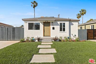 Culver City Single Family Home Active Under Contract: 4768 Imlay Avenue