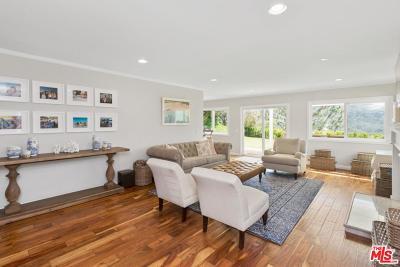 Pacific Palisades Single Family Home For Sale: 17194 Avenida De La Herradura