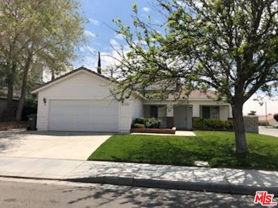 Lancaster Single Family Home Active Under Contract: 3332 East Avenue K3