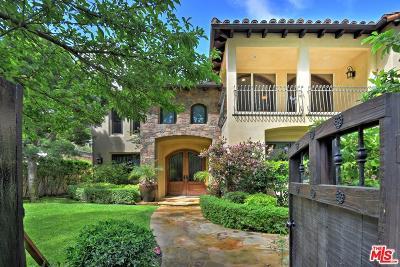 Sherman Oaks Single Family Home For Sale: 4019 Ventura Canyon Avenue