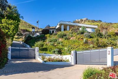 Malibu Single Family Home For Sale: 31347 Pacific Coast Highway