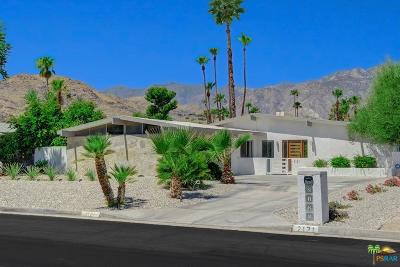 Palm Springs Single Family Home Active Under Contract: 2121 South Broadmoor Drive