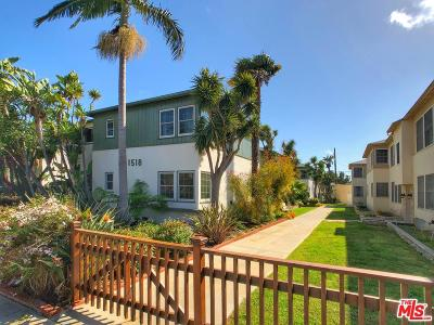 Santa Monica Condo/Townhouse For Sale: 1518 Yale Street #8