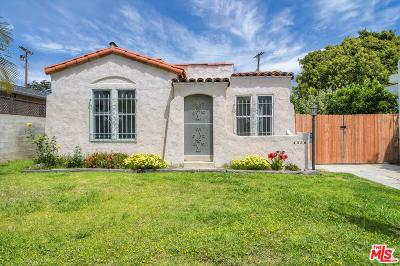 Los Angeles Single Family Home For Sale: 4350 Coolidge Avenue