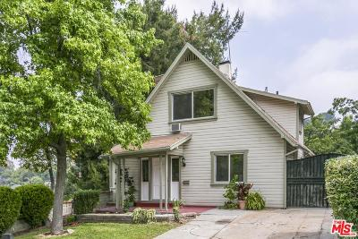 Los Angeles Single Family Home Active Under Contract: 713 South Avenue 59