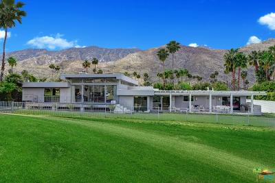 Palm Springs Single Family Home For Sale: 2160 South Calle Palo Fierro