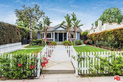 Los Angeles County Single Family Home Active Under Contract: 1307 North Orange Grove Avenue