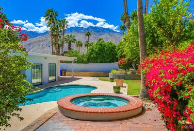 Palm Springs Single Family Home Active Under Contract: 2220 East Calle Conejara