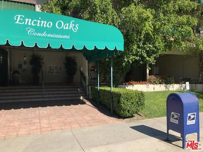 Encino Condo/Townhouse For Sale: 5460 White Oak Avenue #A118