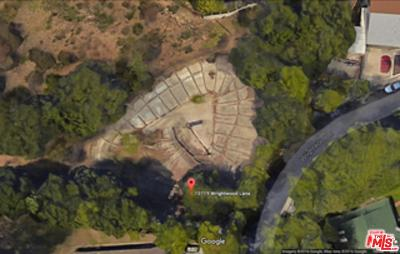 Studio City Residential Lots & Land Active Under Contract: 10719 Wrightwood Lane