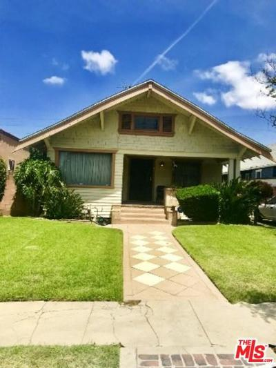 Los Angeles Single Family Home For Sale: 2191 West 31st Street